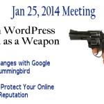 WordPress Midcities User Group Meeting Jan 25, 2014