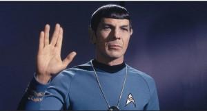 Leonard Nimoy - Vulcan Salute