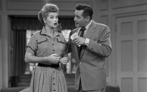 Lucille Ball and Desi Arnaz-I Love Lucy