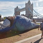 London Celebrates Monty Python Reunion 2014 with a 50' Dead Parrot